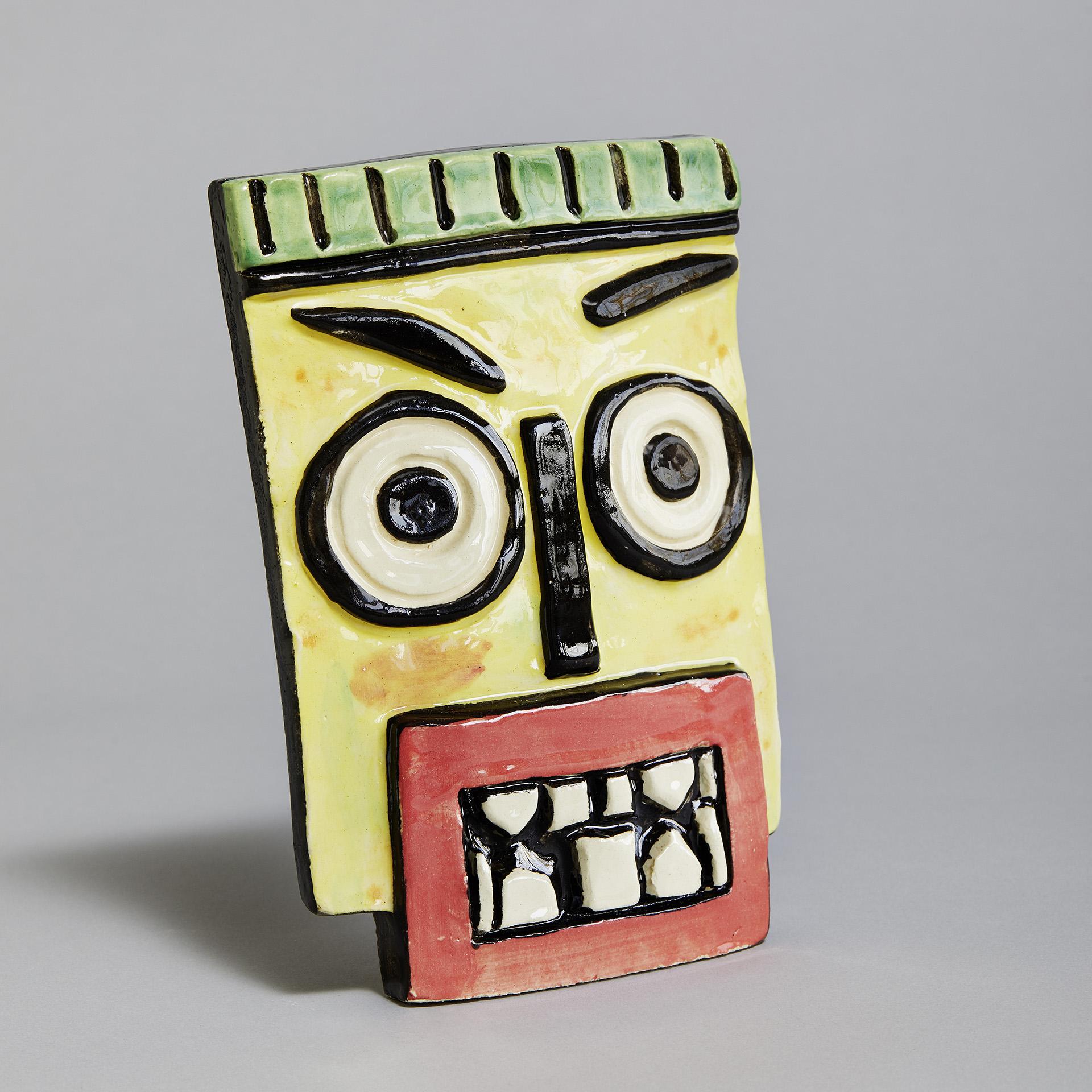 "Keramik ""Noldes Maske"""