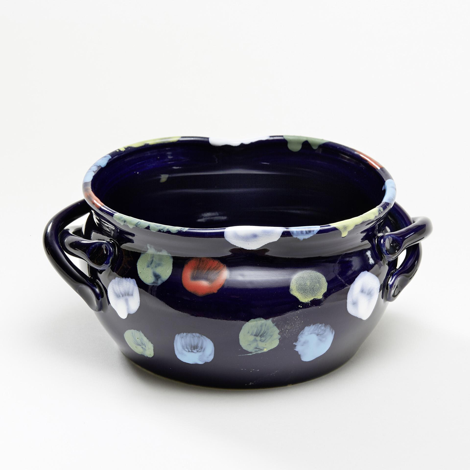 "Keramik ""Noldes blauer Malertopf"""