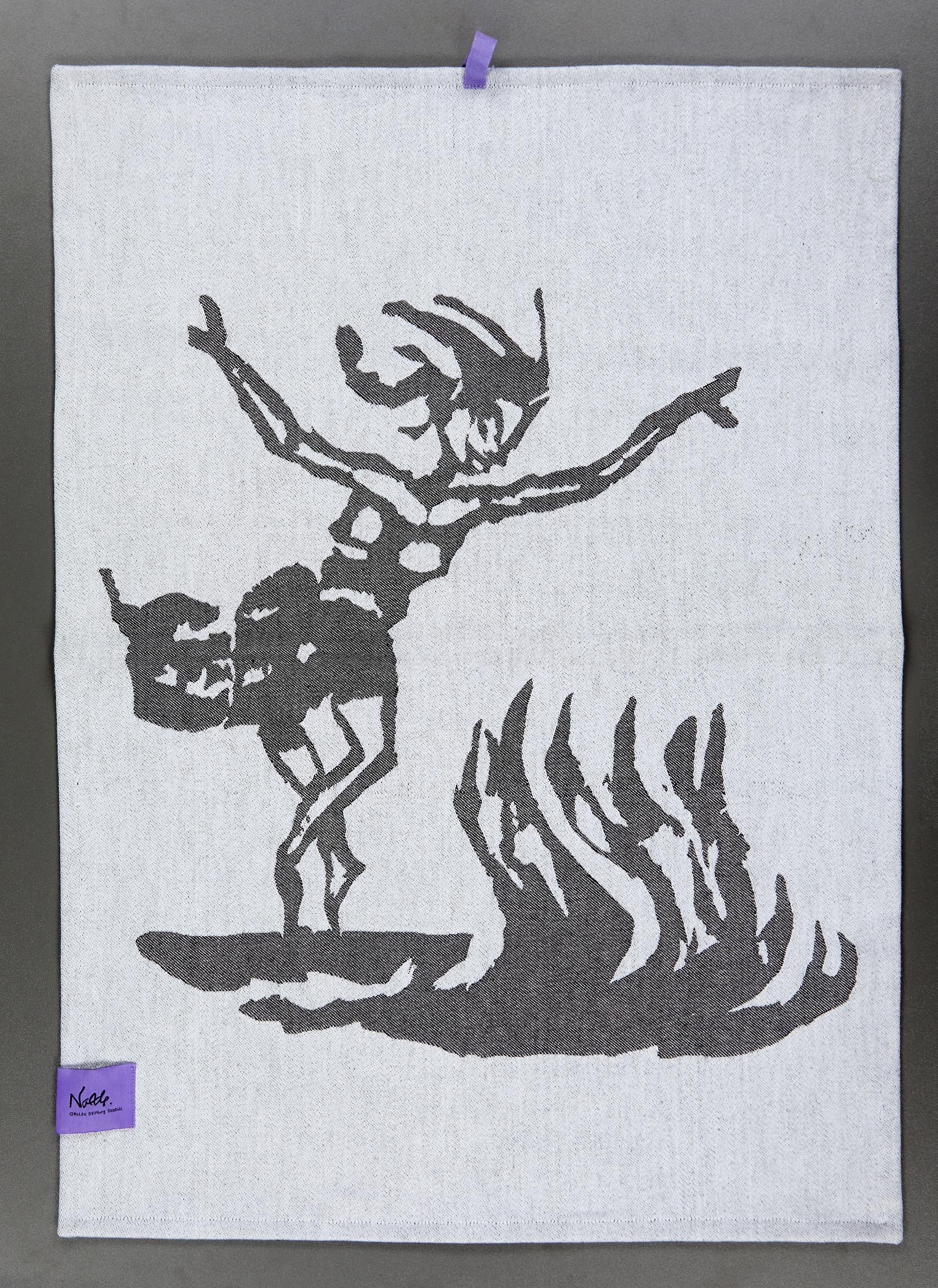 """Geschirrtuch Noldes """"Feuertänzerin"""""""