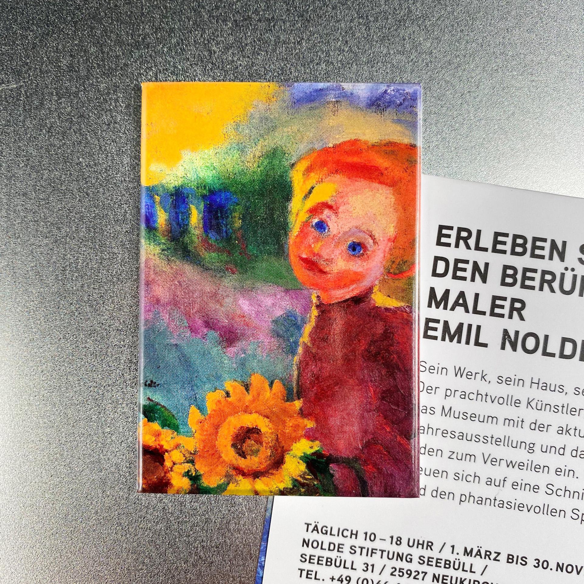"""Nolde-Magnet """"Kleine Sonnenblumen"""""""